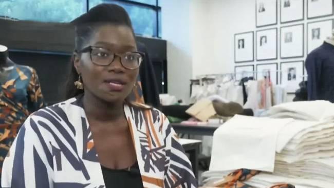Au Sénégal, la créatrice Diarra Bousso utilise les maths pour concevoir ses tenues | TV5MONDE Culture