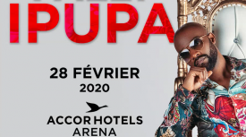 Affiche Concert Fally Ipupa AccorHotels Arena