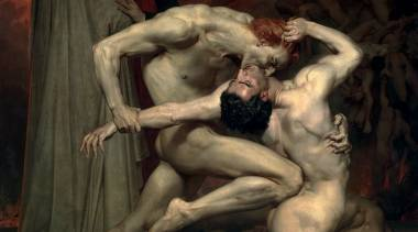 « Dante et Virgile », William Bouguereau (1850)